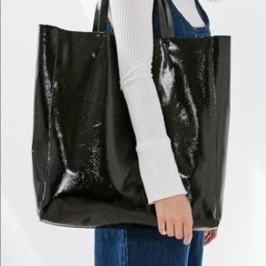 Urban Outfitters Faux Patent Leather Totes